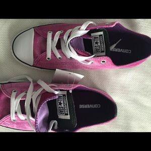 Converse Shoes - Converse Chuck Taylor All Star pink velvet kicks